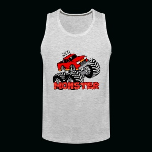Monster Pickup Truck - Men's Premium Tank