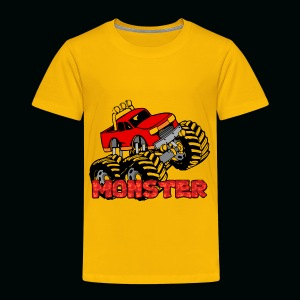 Monster Pickup Truck - Toddler Premium T-Shirt