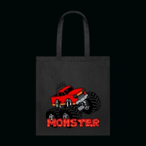Monster Pickup Truck - Tote Bag
