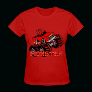 Monster Pickup Truck - Women's T-Shirt