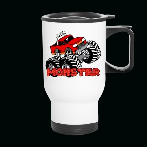 Monster Pickup Truck - Travel Mug