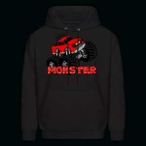 Monster Pickup Truck - Men's Hoodie