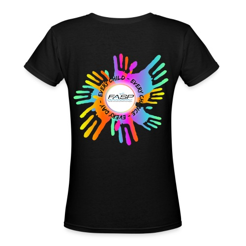 women's v neck - Women's V-Neck T-Shirt
