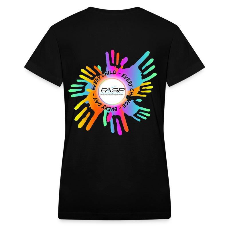 women's v neck - Women's V-Neck T-Shirt