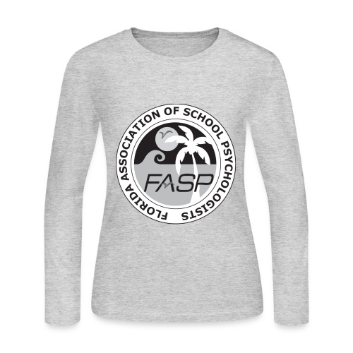 FASP_Badge_BW - Women's Long Sleeve Jersey T-Shirt