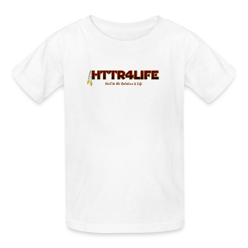 HTTR4LIFE Support The Name Redskins Kids Shirt - Kids' T-Shirt