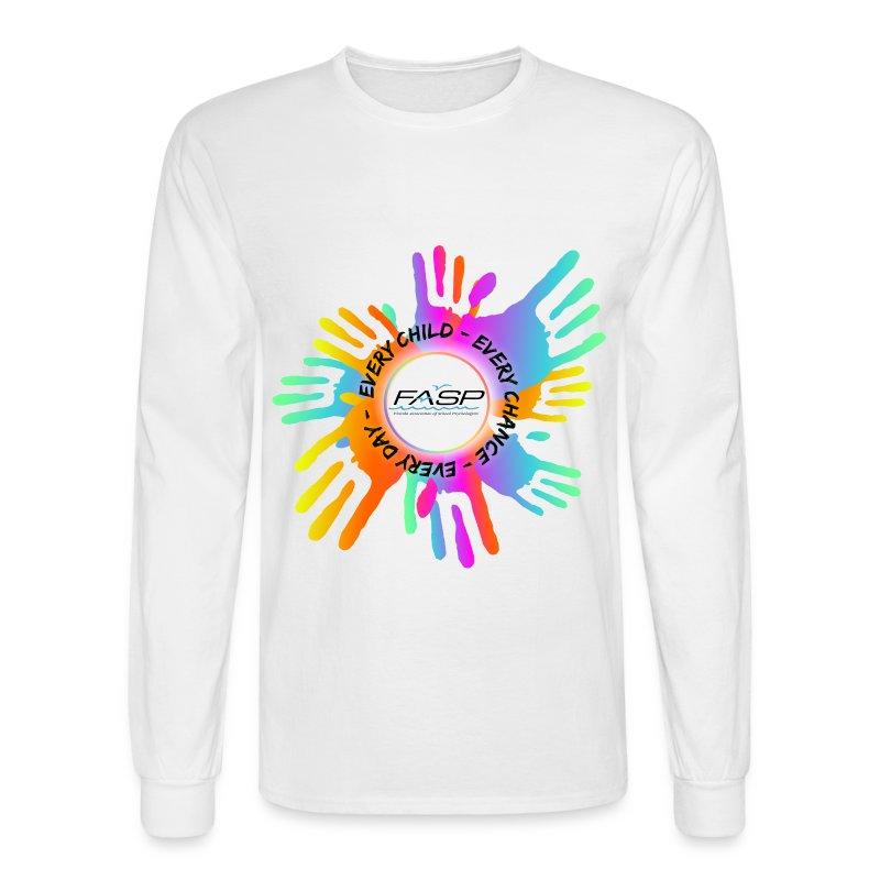 FASP logo hands - Men's Long Sleeve T-Shirt