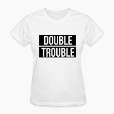 Double trouble Women's T-Shirts