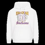 Hoodies ~ Men's Hoodie ~ ISSAQUAH Indians 98