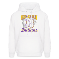 Hoodies ~ Men's Hooded Sweatshirt ~ ISSAQUAH Indians 98