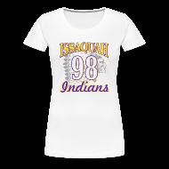 Women's T-Shirts ~ Women's Premium T-Shirt ~ ISSAQUAH Indians 98