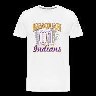 T-Shirts ~ Men's Premium T-Shirt ~ ISSAQUAH Indians 01