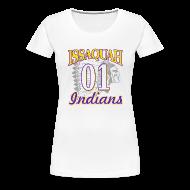 T-Shirts ~ Women's Premium T-Shirt ~ ISSAQUAH Indians 01
