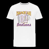 T-Shirts ~ Men's Premium T-Shirt ~ ISSAQUAH Indians 02
