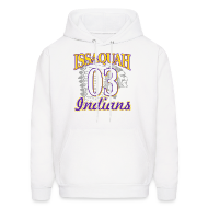 Hoodies ~ Men's Hoodie ~ ISSAQUAH Indians 03