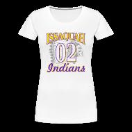 T-Shirts ~ Women's Premium T-Shirt ~ ISSAQUAH Indians 02
