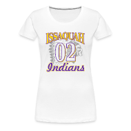 Women's T-Shirts ~ Women's Premium T-Shirt ~ ISSAQUAH Indians 02