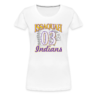 Women's T-Shirts ~ Women's Premium T-Shirt ~ ISSAQUAH Indians 03