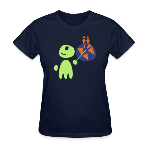 Earthlings101 (female, standard) - Women's T-Shirt