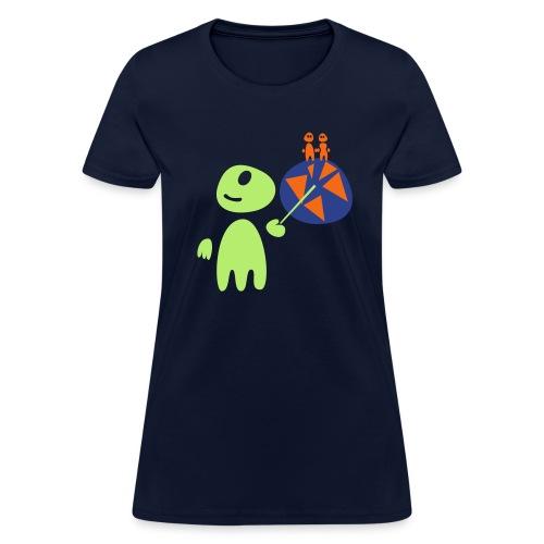 Earthlings101 (female, standard) - Women's T-Shirt