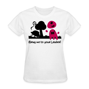 Alien Tourist (female, standard) - Women's T-Shirt