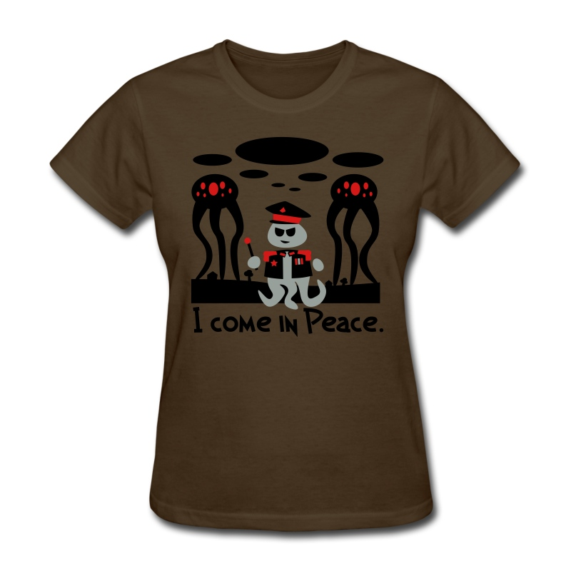 Alien General (female, standard) - Women's T-Shirt