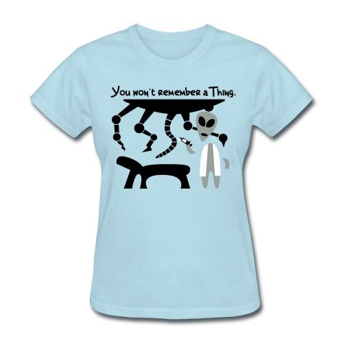 Alien Scientist (female, standard) - Women's T-Shirt