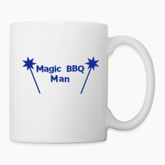 Magic BBQ Man Bottles & Mugs