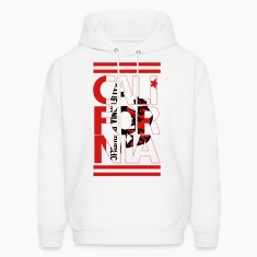 California Flag Bear Hoodies