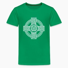 Celtic Cross Kids' Shirts