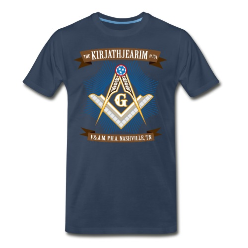 The Kirjathjearim Lodge T - Men's Premium T-Shirt