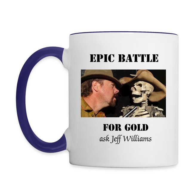 Epic Battle for Gold Coffee Cup