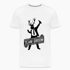 Team Groom / Stag Party (1C) T-Shirts