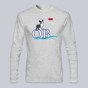 Ocean Beach San Diego - Men's Long Sleeve T-Shirt by Next Level