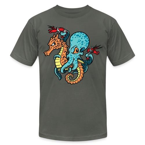 Keep On Ridin'  Men's Asphalt T-Shirt - Men's  Jersey T-Shirt