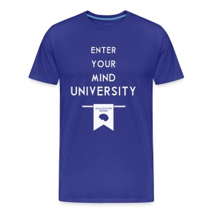 Enter Your Mind University - Geek History Lesson T-Shirt - Men's Premium T-Shirt
