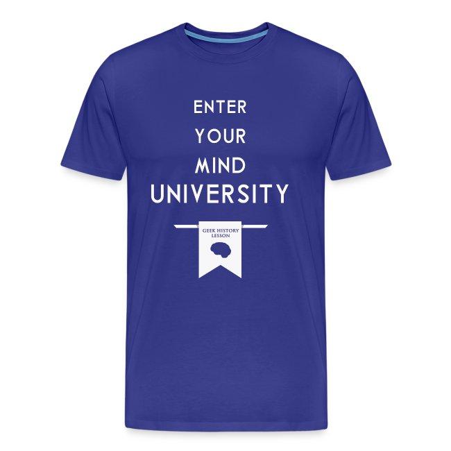 Enter Your Mind University - Geek History Lesson T-Shirt