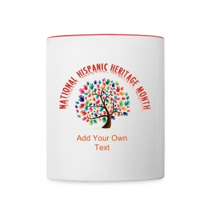 Hispanic Heritage Month Coffee Mug - Contrast Coffee Mug