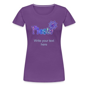 Fiesta T-Shirt For Women - Women's Premium T-Shirt