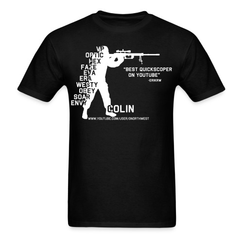 Quickscopin' Colin - Men's T-Shirt