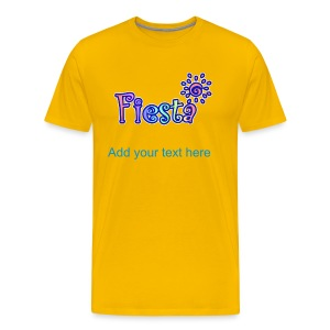 Fiesta T-Shirt For Men - Men's Premium T-Shirt