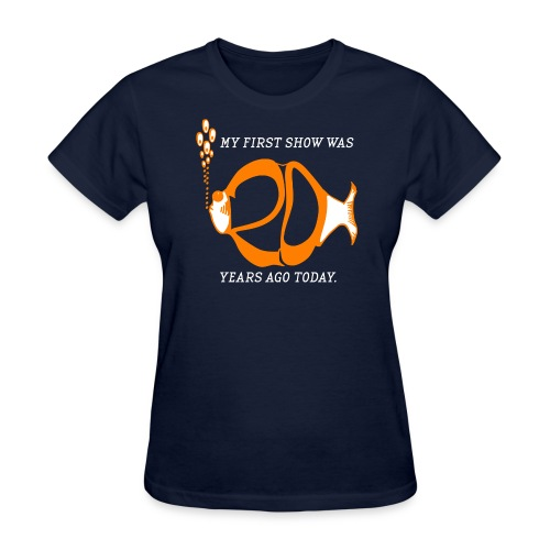 20 years for Sarah - Women's T-Shirt