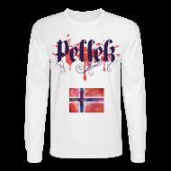 Long Sleeve Shirts ~ Men's Long Sleeve T-Shirt ~ Norwegian Vintage