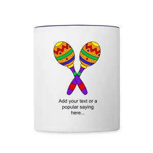 Personalized Maracas Coffee Mug  - Contrast Coffee Mug