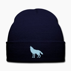 Howling Wolf (Silhouette) Caps