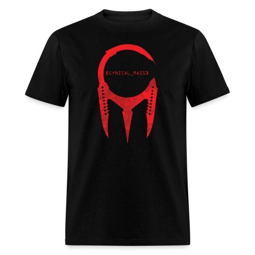 [CYNICAL_MASS] Male T-Shirt Black - Men's T-Shirt
