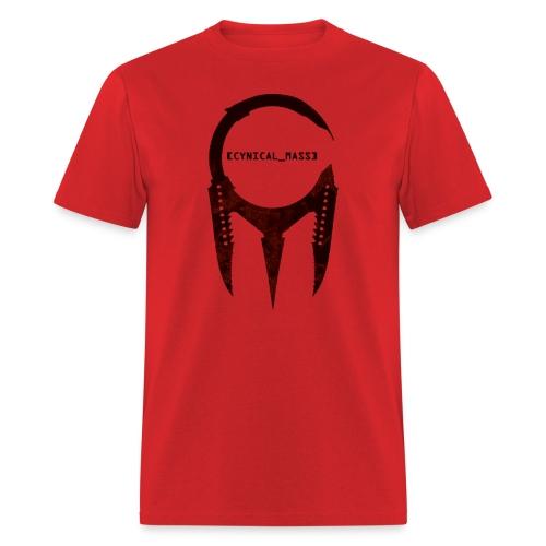 [CYNICAL_MASS] Male T-Shirt Red - Men's T-Shirt