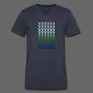 Many Michigans - Men's V-Neck T-Shirt by Canvas