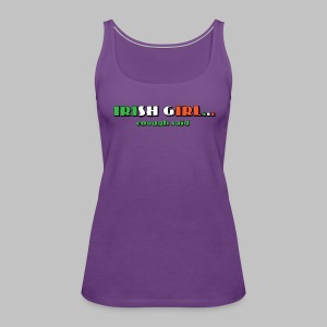 Irish Girl - Women's Premium Tank Top