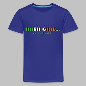 Irish Girl - Kids' Premium T-Shirt
